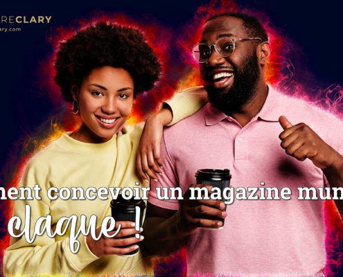Création magazine municipal